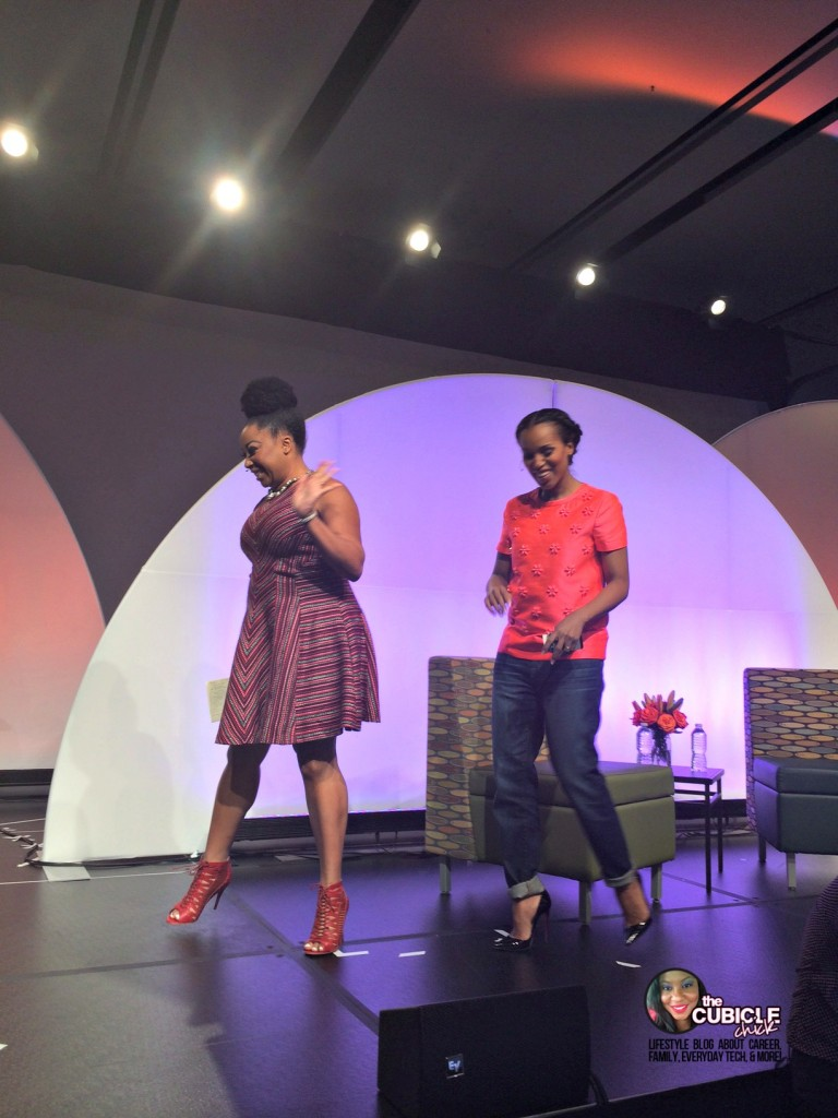 Demetria Lucas and Kerry Washington BlogHer14