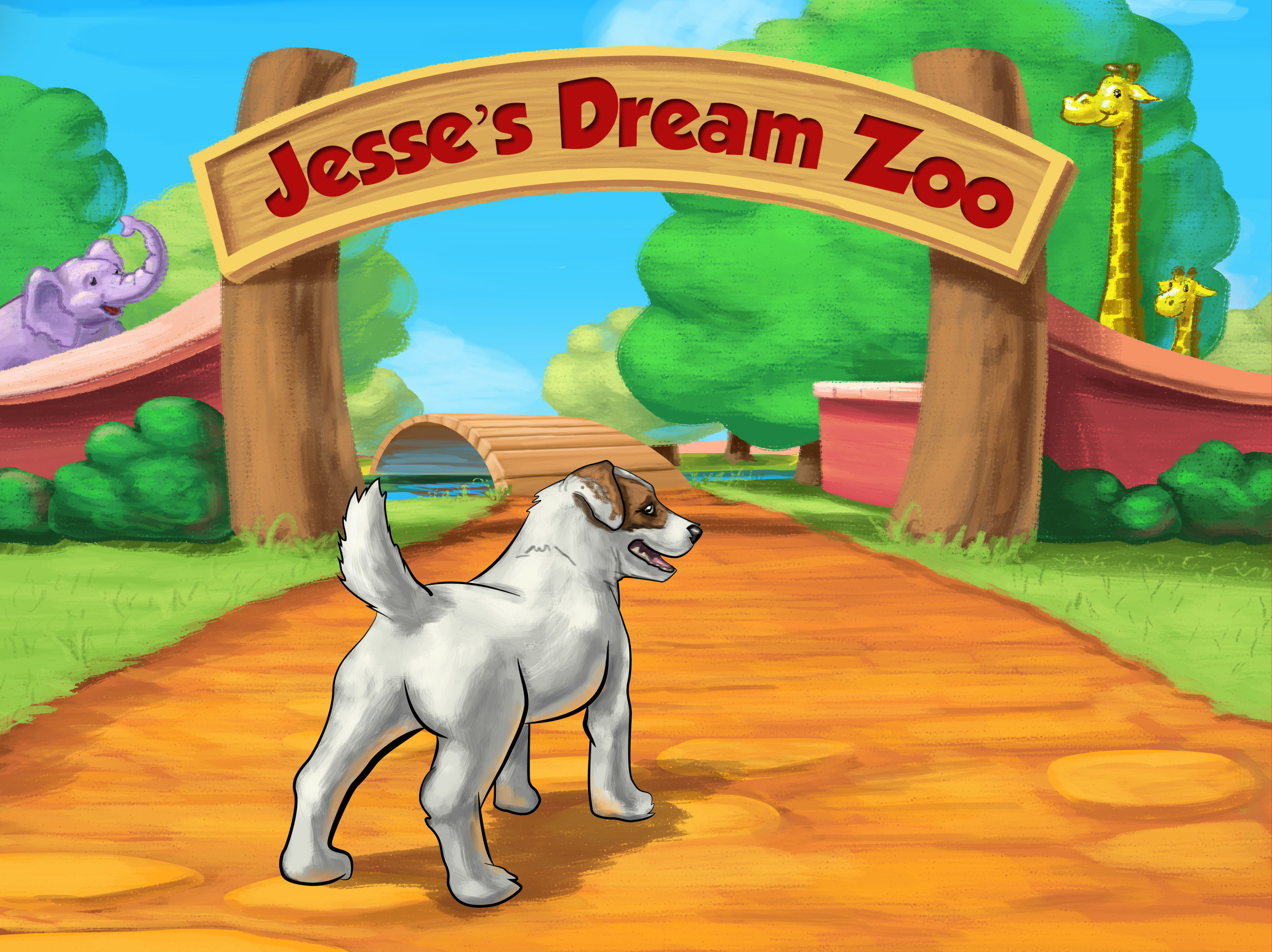 Digital Learning Fun: Just Jesse the Jack's ABC Zoo App Review {Sponsored}