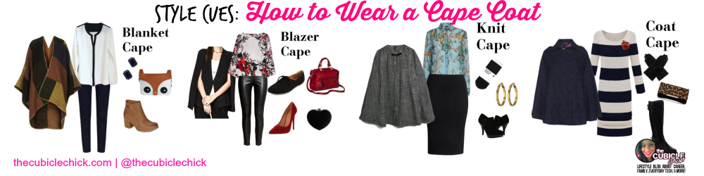 How to Wear a Cape Coat