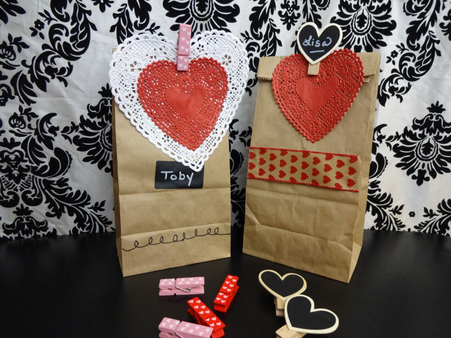DIY Valentine's Day Treat Bags for the Classroom