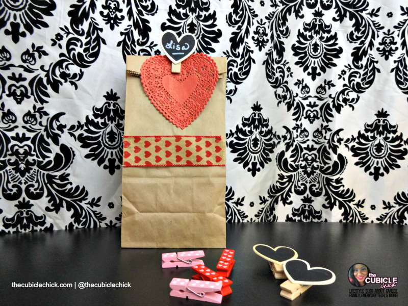 DIY Valentine's Day Treat Bags for the Class