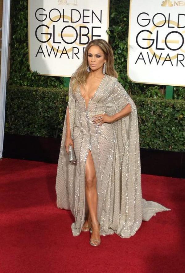J-Lo Golden Globes 2015