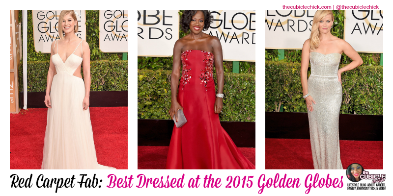 Red Carpet Fab Best Dressed at the 2015 Golden Globes