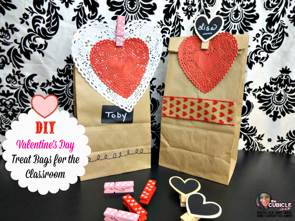 Diy Valentine S Day Treat Bags For The Classroom