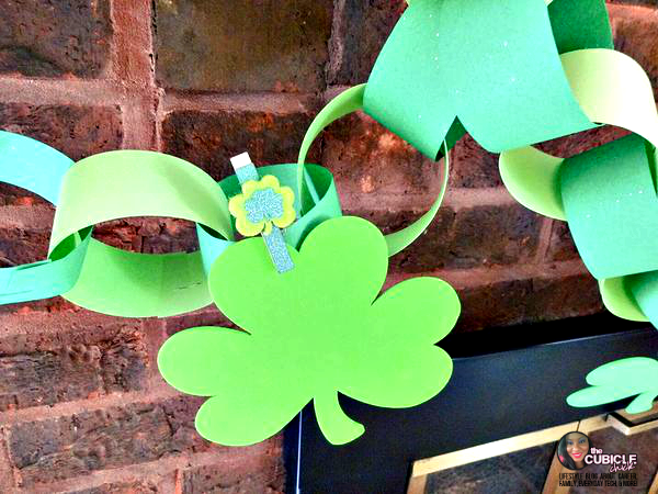 DIY Irish Garland