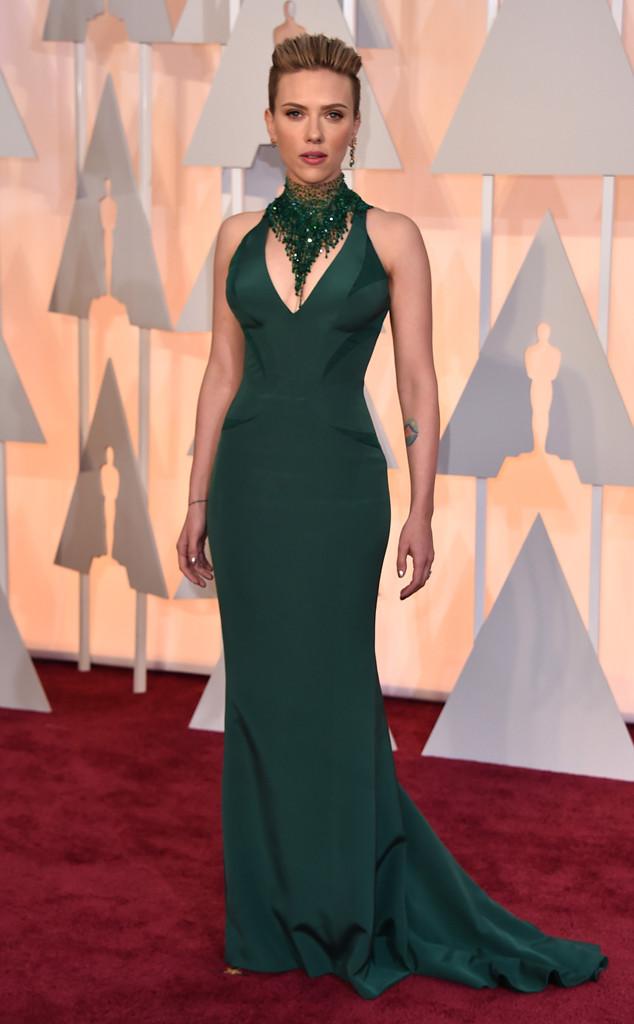 Scarlett Johansson 2015 Oscars