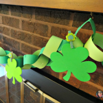 St. Patrick's Day Shamrock Garland DIY