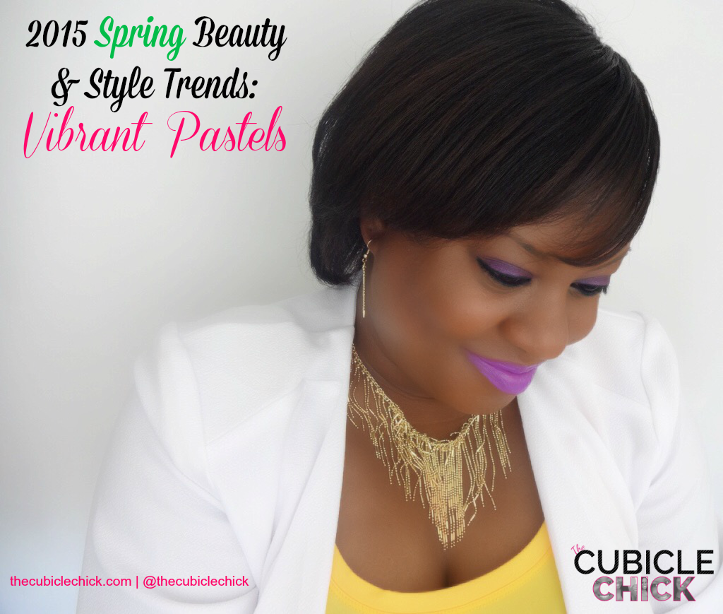 2015 Spring Beauty and Style Trends Vibrant Pastels