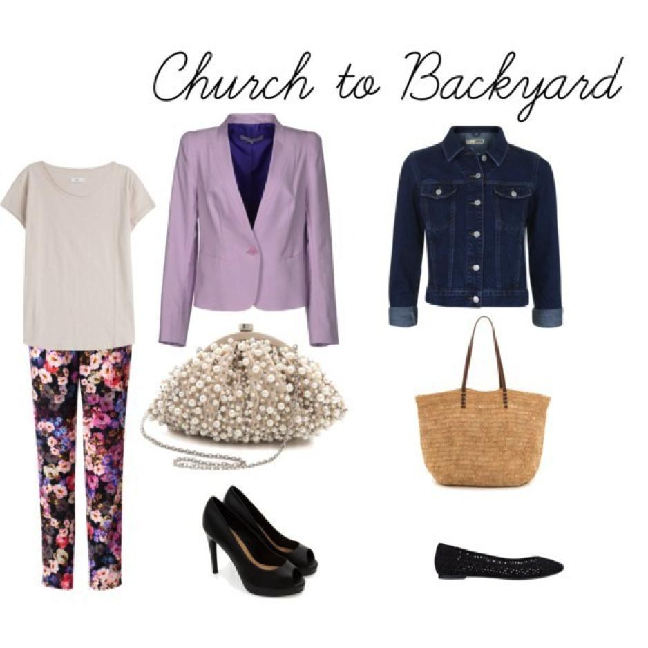 Church to Backyard