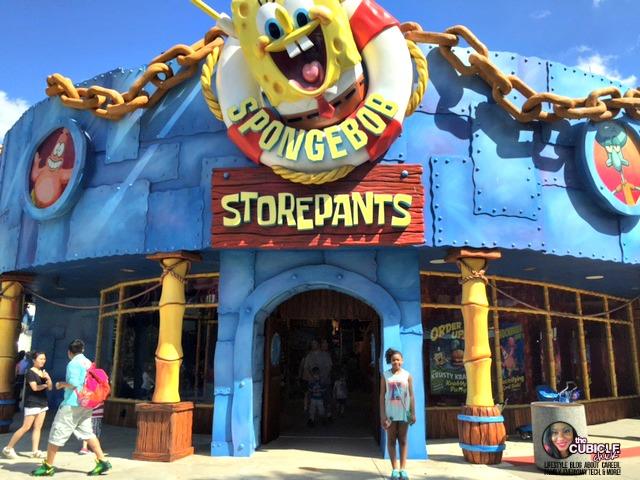 Spongebob Universal Studios