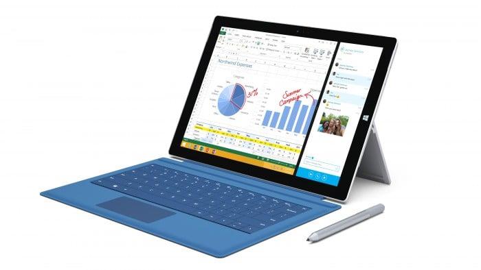Surface Pro 3 Cyan