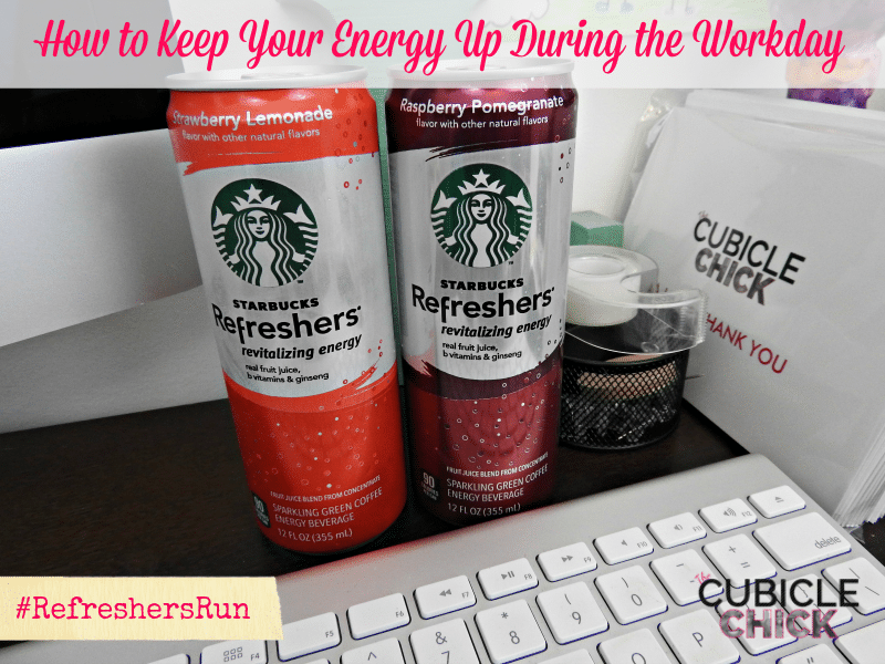 How to Keep Your Energy Up During the Workday