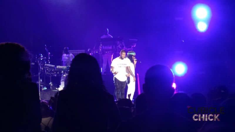 Usher and Wale 2015 Essence Fest