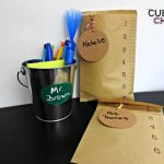 2 Easy Back to School DIY Gift Ideas for Teachers and Students #BackToSchool