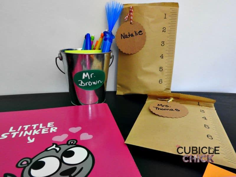 Easy DIY Back to School Teacher Gifts