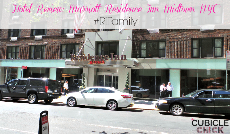 Hotel Review Marriott Residence Inn Midtown NYC #RIFamily