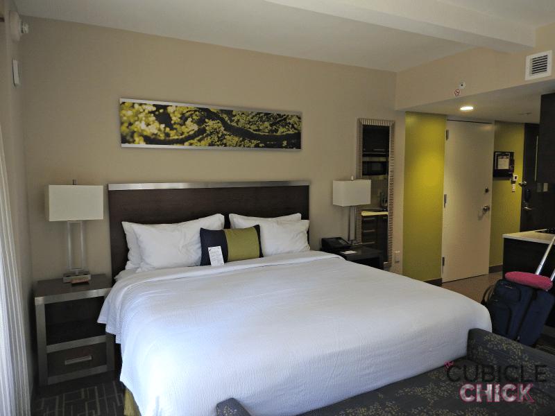 Residence Inn Midtown New York Bed