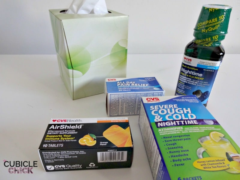 4 Simple Rules for Fighting Colds #CVSDayInTheLife