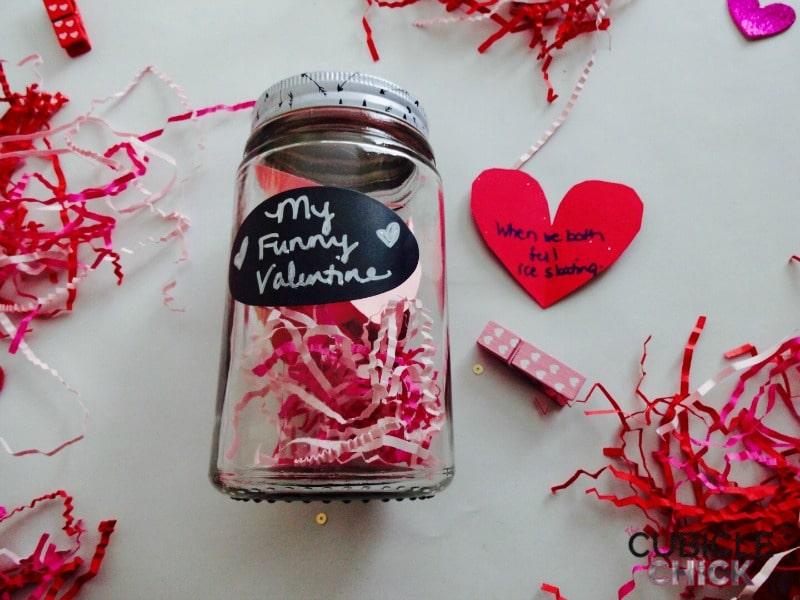 Schön DIY Valentine Cookie Card Source · Create Your Own DIY Valentine Jars The  Cubicle Chick