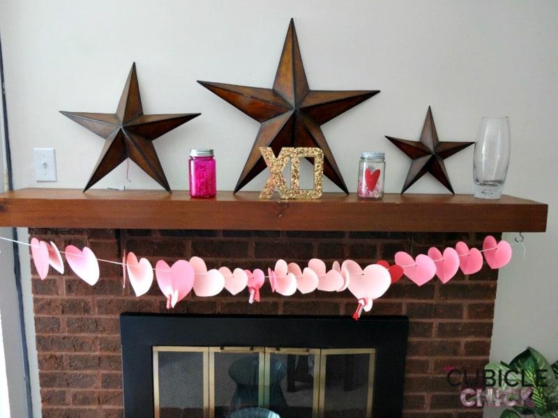 Valentine Hearts Garland DIY