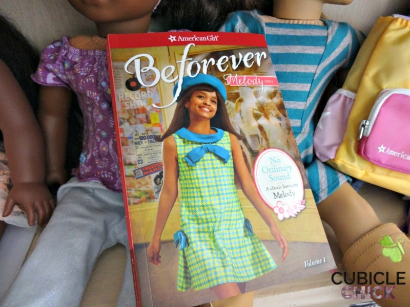American Girl Unveils New Beforever Doll Melody Ellison Book