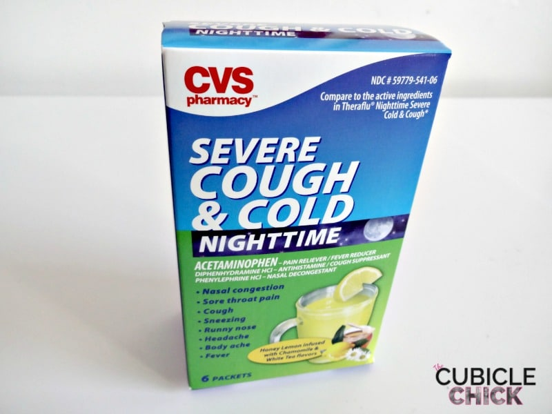 CVS Severe Cough and Cold