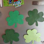 DIY Shamrock Magnets: Busy Parent Craft