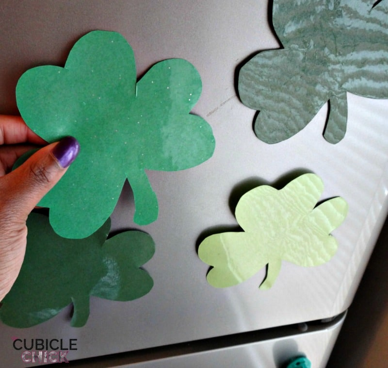Shamrock Magnets DIY