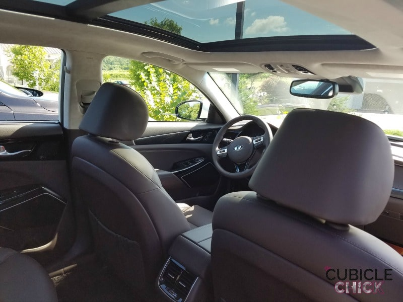 2017 Kia Cadenza Panoramic Sunroof