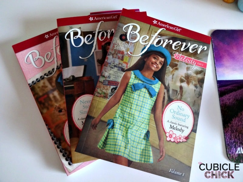 Beforever Melody books from American Girl