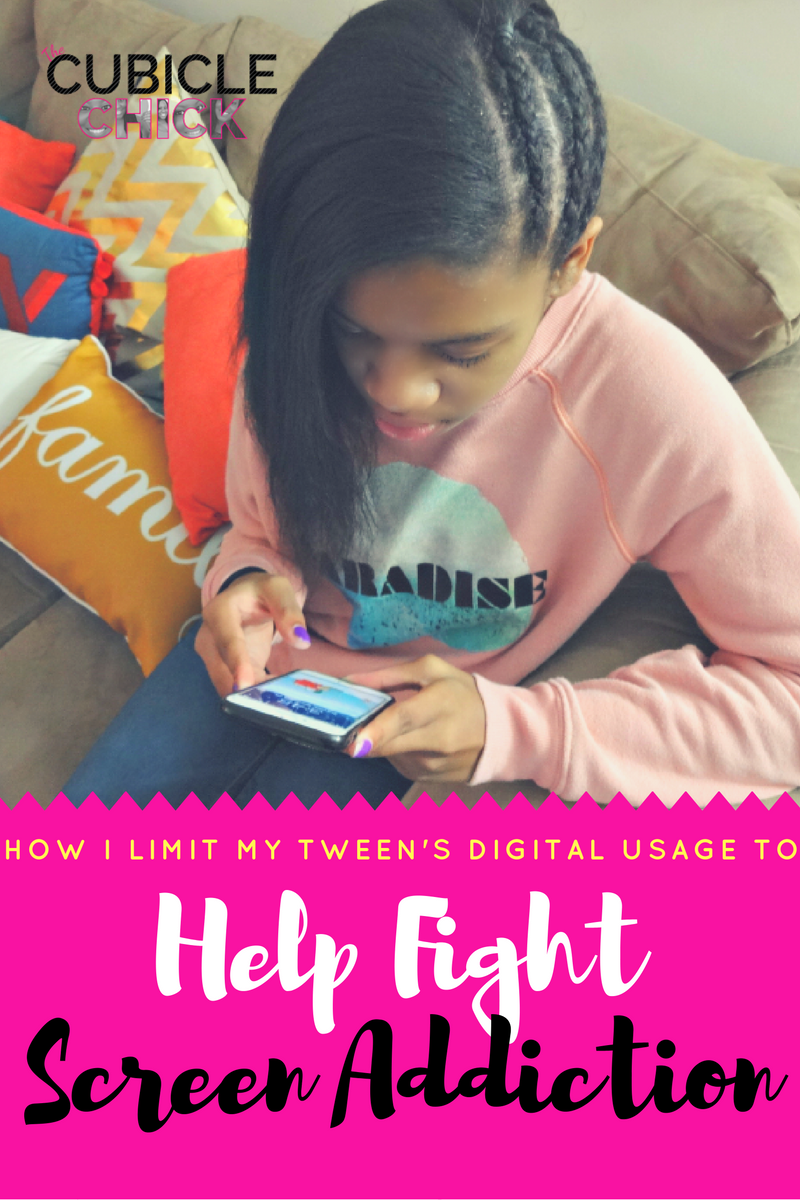 How I Limit My Tween's Digital Usage to Help Fight Screen Addiction