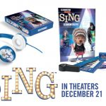 SING Prize Pack Giveaway + Printables #SingMovie #ad