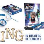 SING Prize Pack Giveaway + Printables #SingMovie #ad