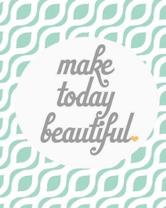 Mondays Can Be Beautiful.