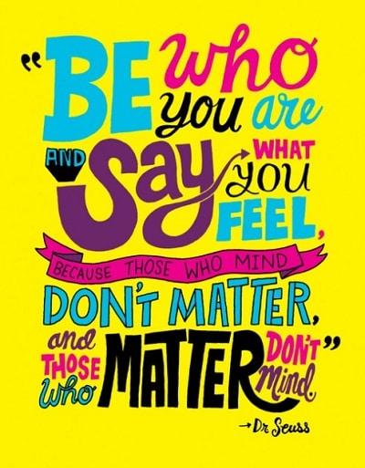 Monday Motivation: Be Your Wonderful Self!