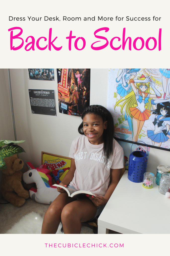 Dress Your Desk, Room and More for Success for Back to School