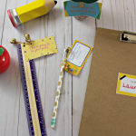 Free Customizable and Printable Tags for Back to School
