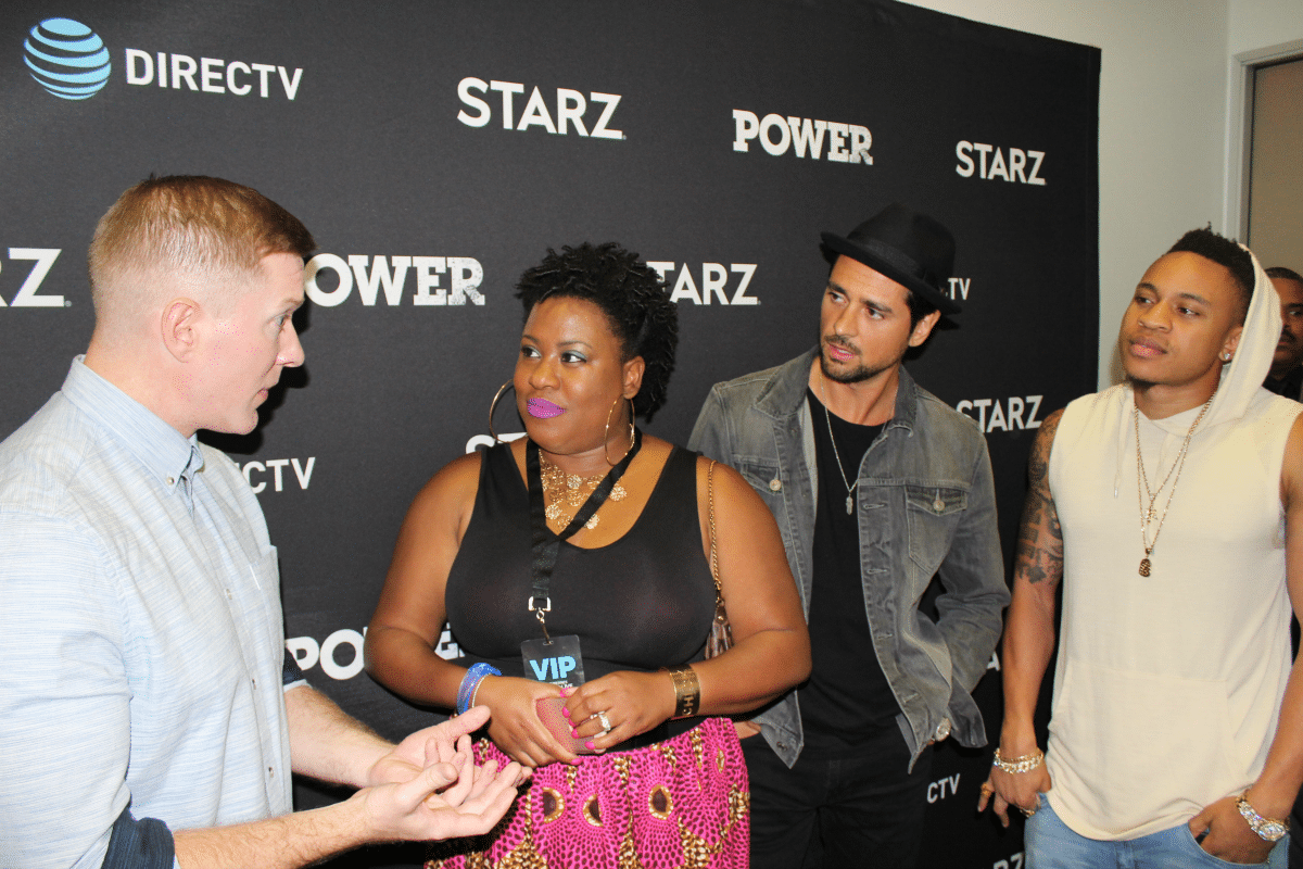 Talking Career, Social Media, and Balance with the Cast of Power