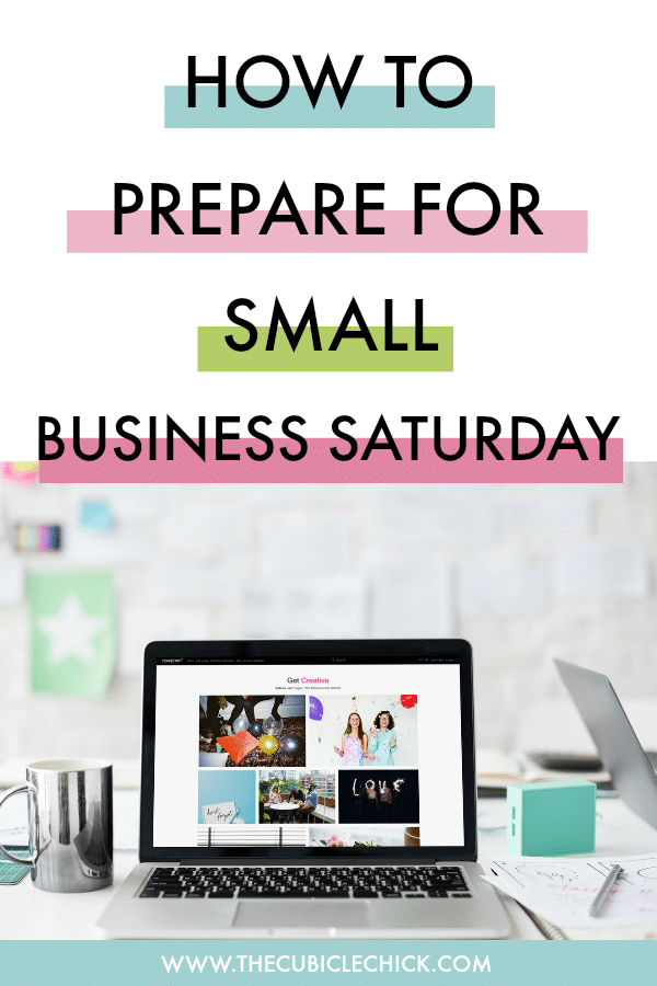 How to prepare for Small Business Saturday? Let me count the ways! Read my comprehensive list of to-do's for the big day!