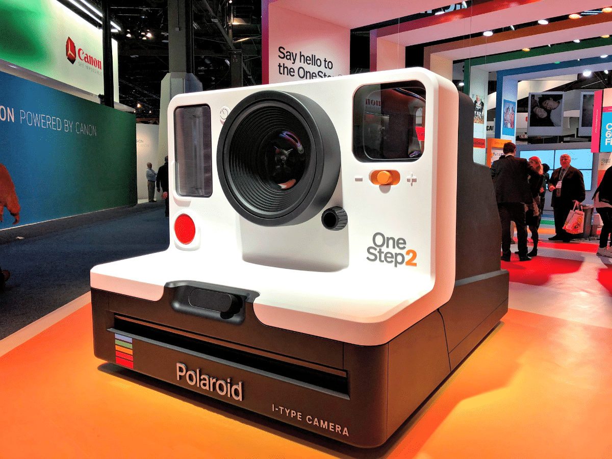 CES 2018 Day 1: Camera Work with Canon Polaroid and Nikon