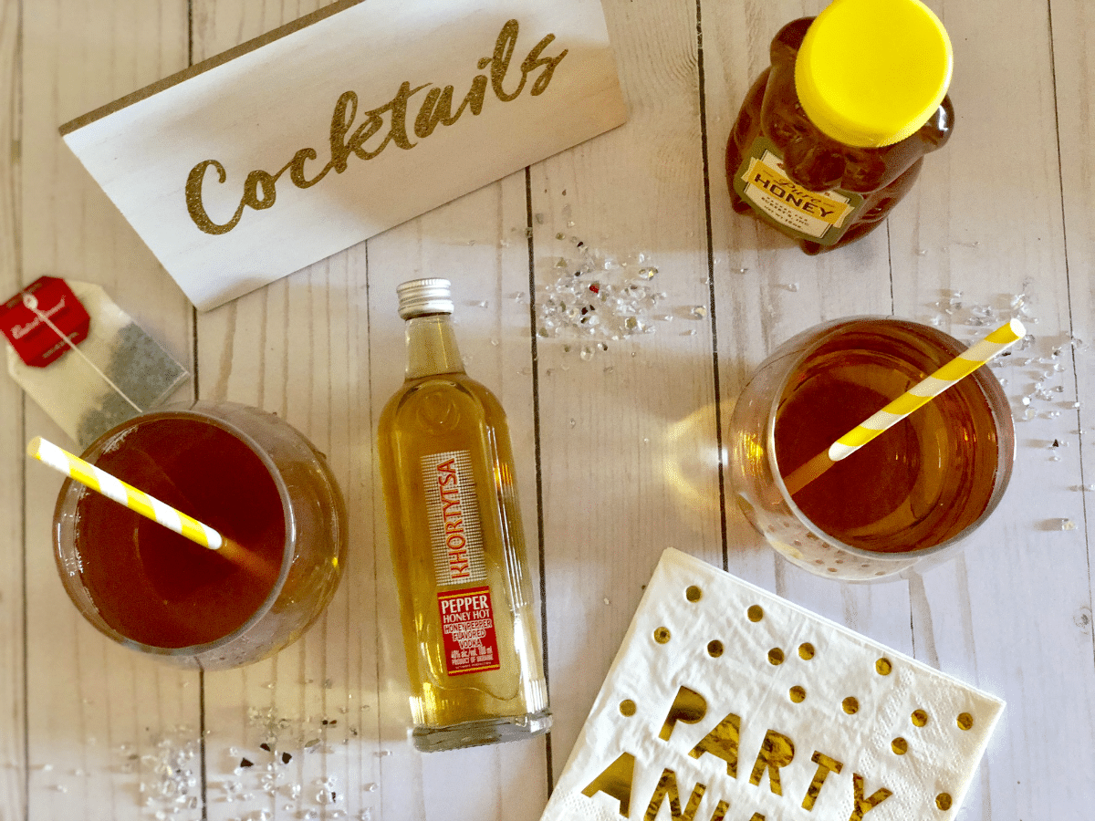 Homemade Happy Hour Hot Toddy Recipe with Pepper Honey Hot Vodka