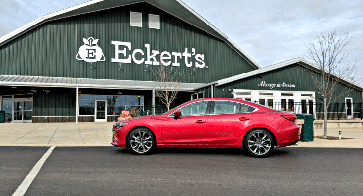 The Chicklet and I took a quick day trip to Illinois in the 2017 Mazda 6 to visit one of our favorite places and leave cabin fever behind.