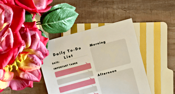 Download my Free Daily To Do List printable, powered by America's Top Selling Brand, Boise Paper, and crush your daily tasks.