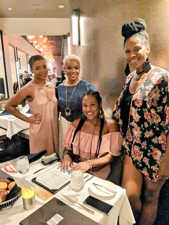 Sans kids, partners, or responsibilities, I'm sharing our experience recently during a Working Moms Night Out sponsored by Hollywood Casino Hotel St. Louis.