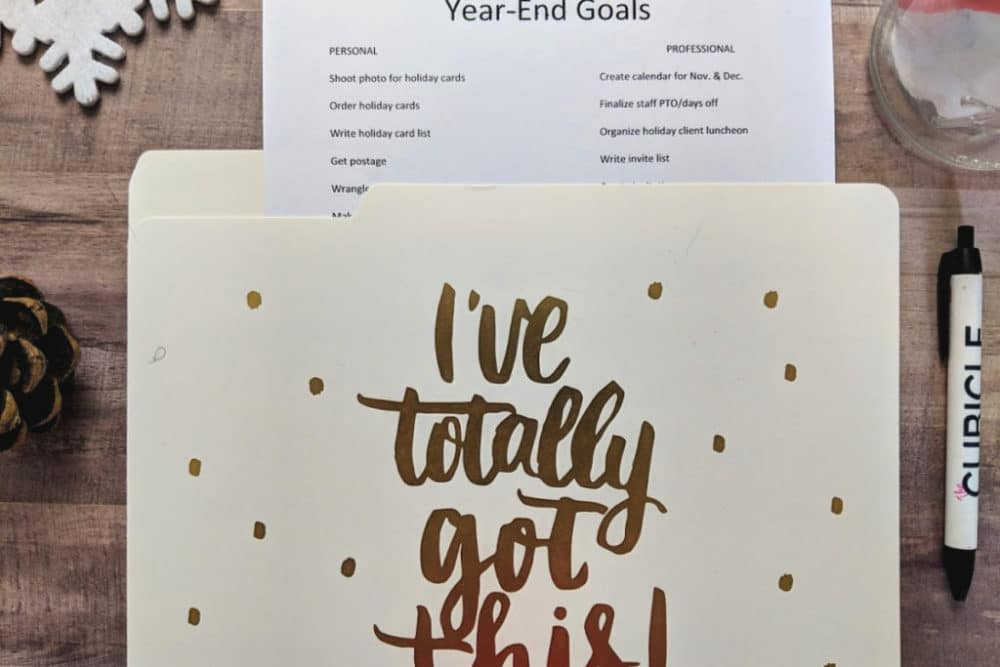 An Ultimate Guide to Meeting Year End Deadlines + Visa Gift Card Giveaway