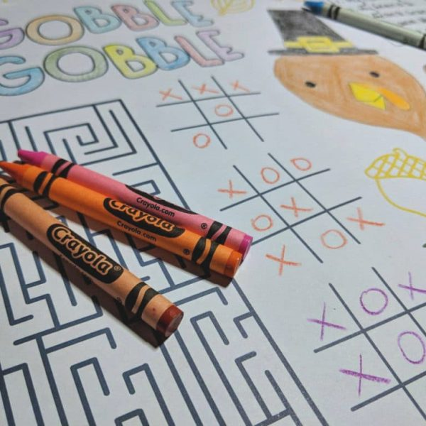 The Kids Table: Thanksgiving Activity Ideas for Kids