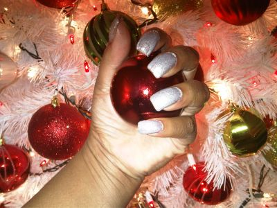 I will be rocking this color for Christmas. Perfect for the holiday season!