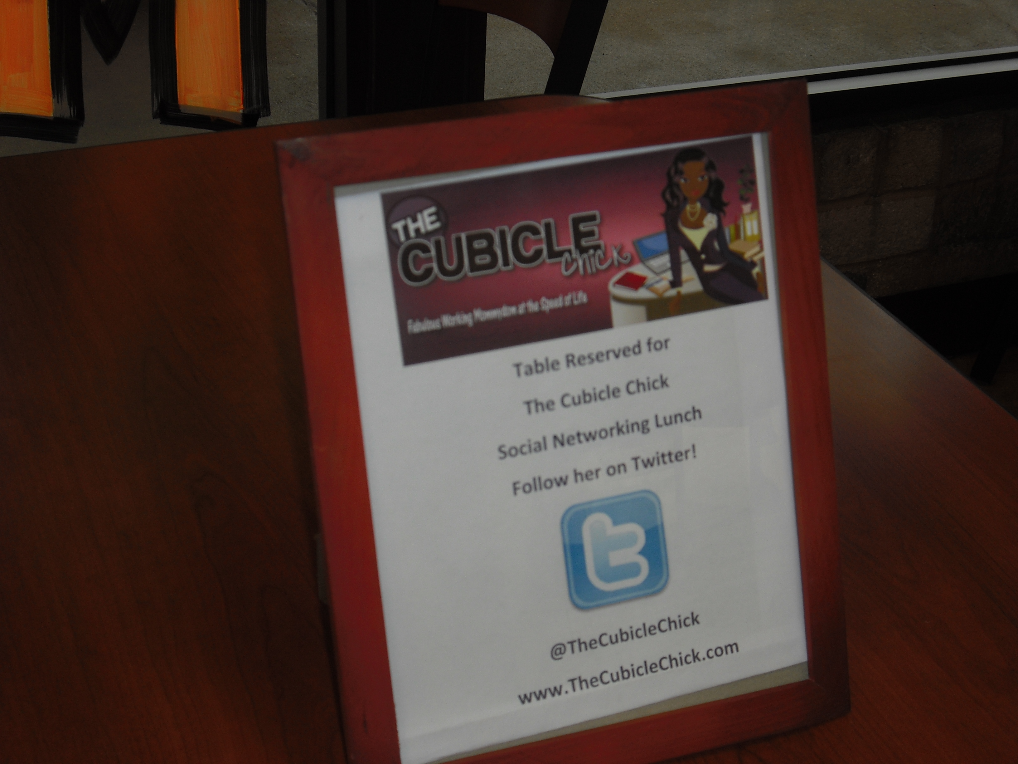 The Cubicle Chick Social Networking Lunch Was A Success!