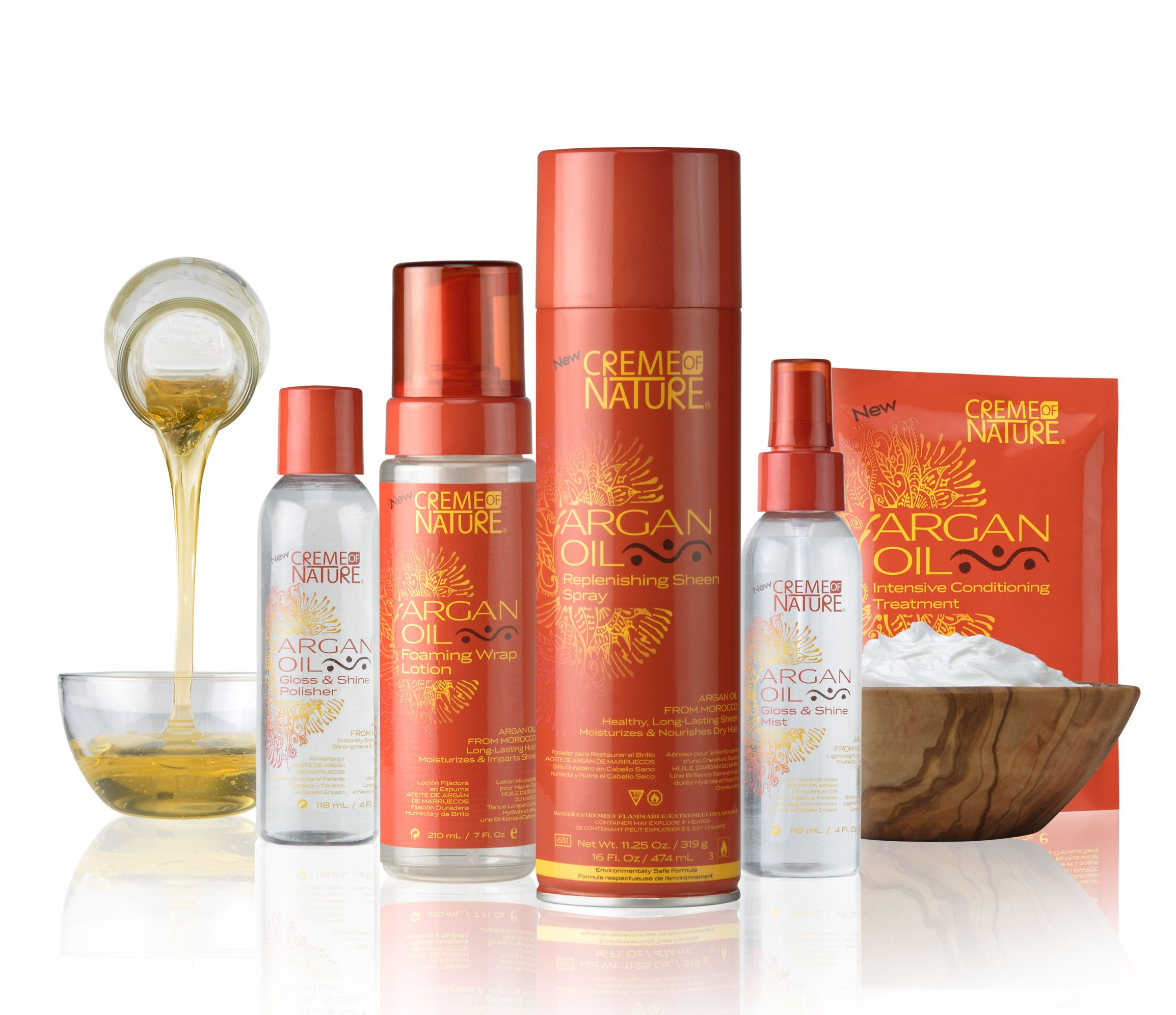 Creme of Nature Introduces New Product Line With Argan Oil