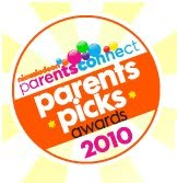 Nickelodeon Parents Connect—Parents' Picks Awards 2010